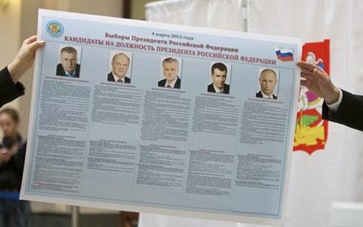 Russia Elections 4801
