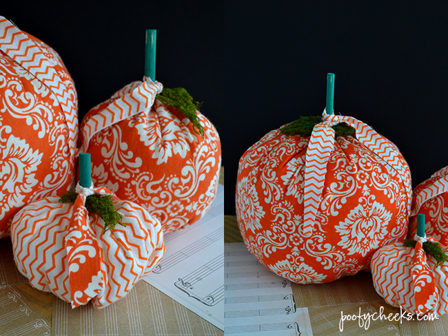 Fabric Pumpkin Tutorial