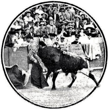 1912-06-09 (Nuevo Mundo) Barcelona Cogida de Manolete