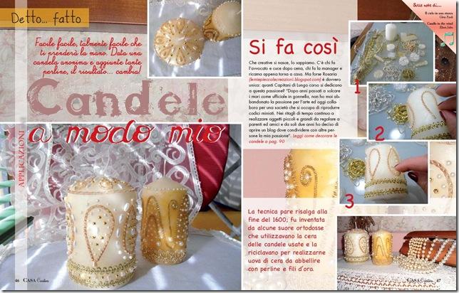 tutorial per candele