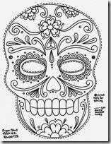 máscaras calaveras de azucar (1)