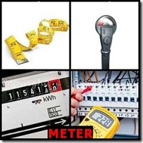 METER- 4 Pics 1 Word Answers 3 Letters