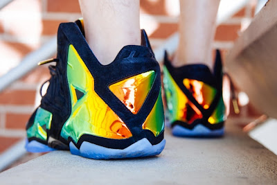 nike lebron 11 nsw sportswear ext kings crown 3 04 Nike LeBron 11 EXT Crown Jewel On Foot & Release Date