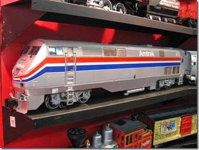 IMG_5588 G-Scale Amtrak P42DC #60 by LGB at the WGH Show in Portland, OR on February 18, 2007