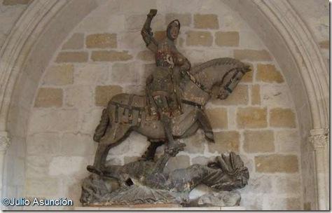 San Jorge y el dragón - Estella