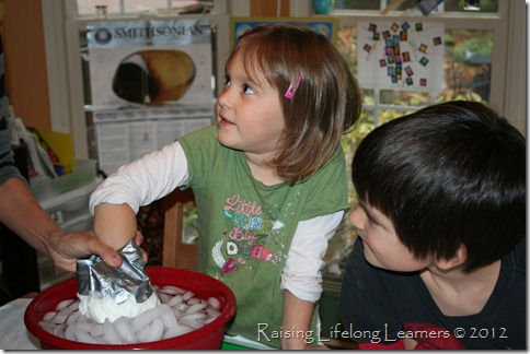 Hands On Science - Studying Blubber