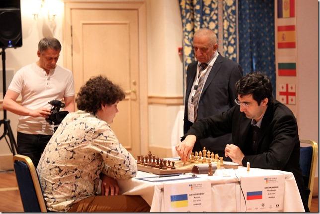 Korabov vs V Kramnik G1 Rd 5 - World Cup 2013 Tromso