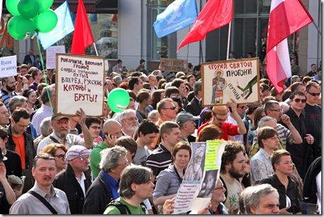"""Москва, 6 мая 2012 г. Митинг """"За честные выборы"""""""