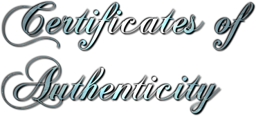How to make a certificate of authenticity for artwork artpromotivate certificates of authenticity yadclub Images