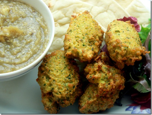 Indian-Style Split Pea Fritters 1