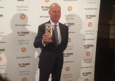 MICHAEL KEATON wins Best Actor at Gotham Awards