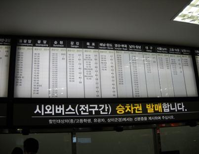 Sasang Bus Terminal, Busan