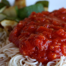 Five Minute Marinara Sauce