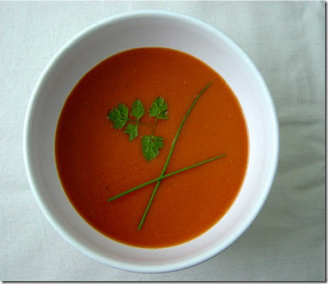 As Strong As Soup: Tomato and Plum Soup
