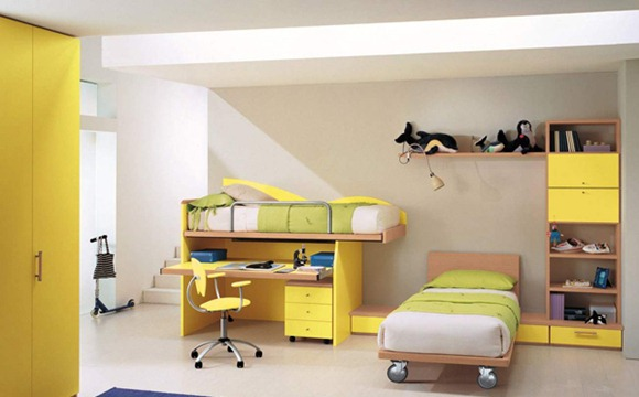 4-cia-Yellow-bedroom
