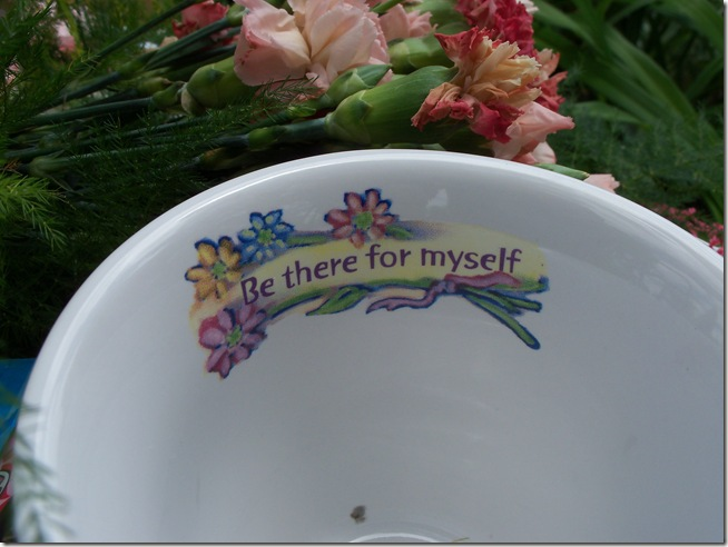Carnation tea tray 005