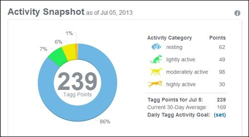 activity snapshot July 5