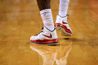 lebron james nba 130106 mia vs was 14 King James Debuts LBJ X Portland PE But Ends Scoring Streak