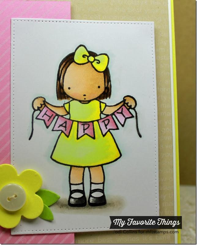 JULY MFT Happy Happy Birthday Closeup