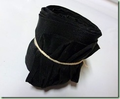 BlackScarf rolled