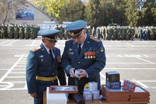 Фоторепортаж с Ейского учебного центра войск противовоздушной обороны