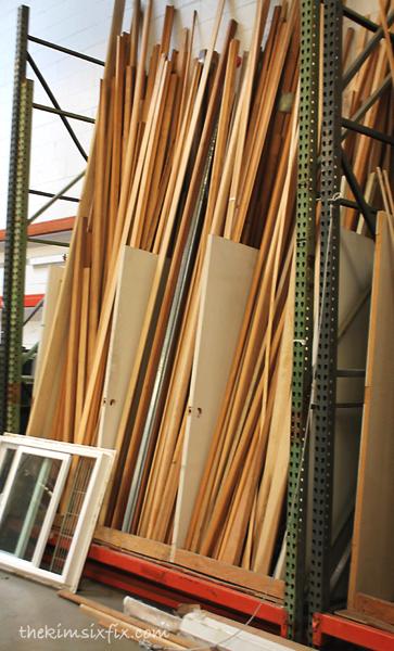 Habitat restore lumber