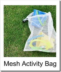 mesh bag button