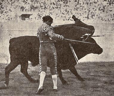 Belmonte-Pase de pecho (El Toreo p. 440) 001