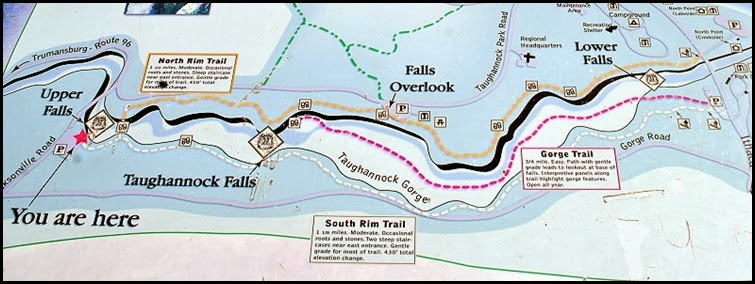 00b- Taughannock Falls SP Map