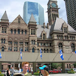 the old city hall downtown toronto in Toronto, Ontario, Canada