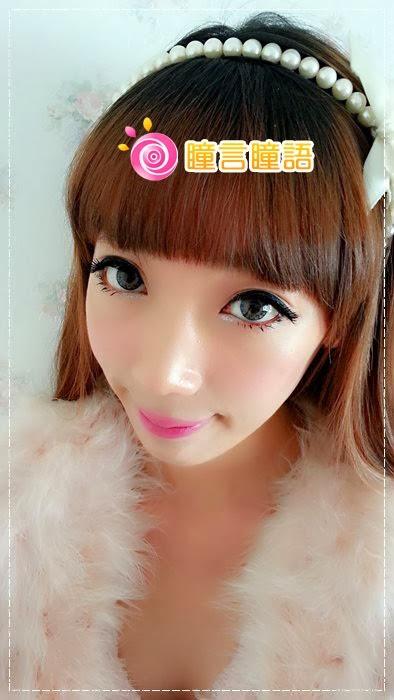 韓國GEO隱形眼鏡-GEO Eyes Cream 霜淇淋灰12
