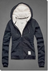 Abercrombie Fleece Lined Hoody