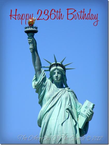 Happy 236th Birthday Liberty