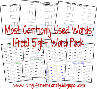 Printables Learn To Read Worksheets learn to read worksheets printable scalien trace stamp write most commonly used words free