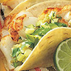 Fish Tacos with Summer Salsa