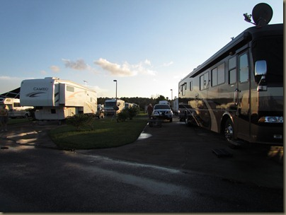 site 202 at Pecan Park Rv Resort