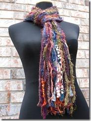 multicolor handmade scarf