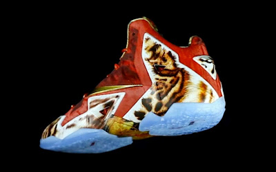 nike lebron 11 gr 2k14 3 02 Video: Nike LeBron 11 NBA 2K14 Limited Edition