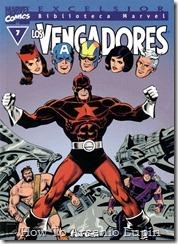 P00007 - Biblioteca Marvel - Avengers #7