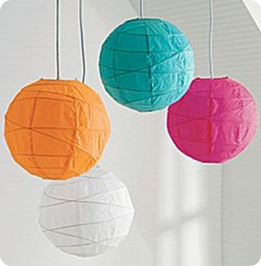 JCPenney Paper Lanterns