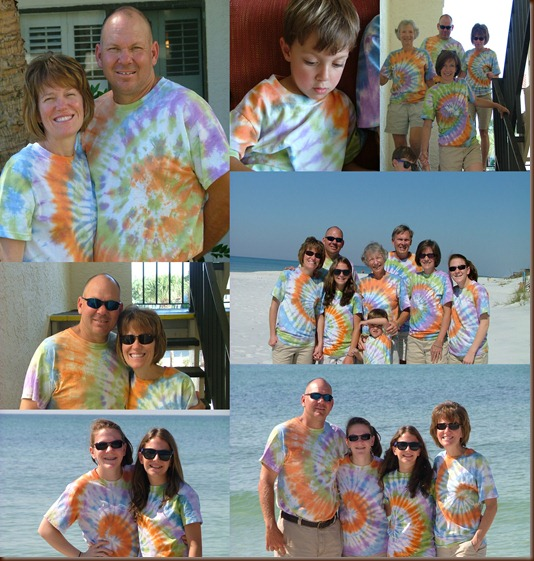 TIE DYE DAY AT SEAGROVE BEACH 2011