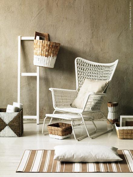 Vitmålade möbler, IKEA