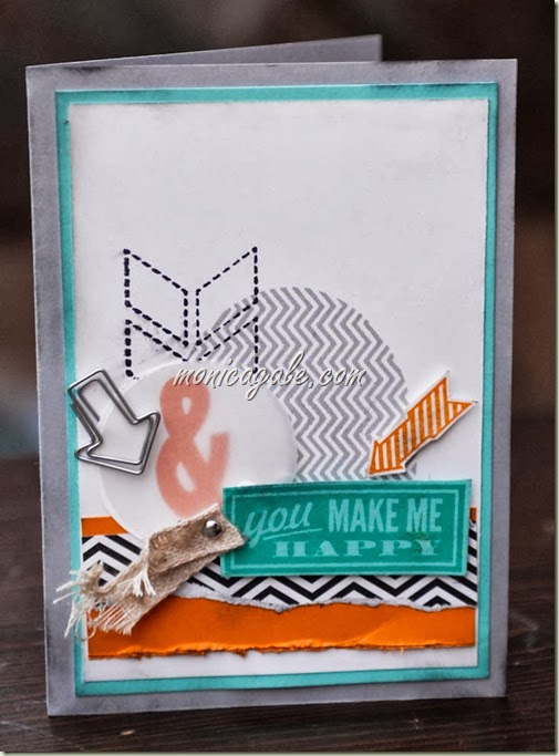 Stampin'Up! Hello Lovely male anniversary