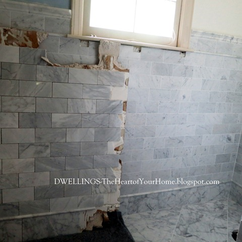 bath remodel ~ the good & ugly | dwellings-the heart of