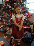 Modeling an authentic German dirndl from Grandma and Opa. (December)