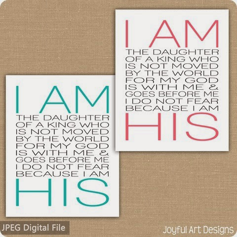 2 examples of I am his