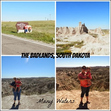 Many Waters The Badlands South Dakota