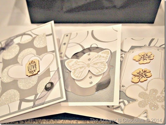 Recollections Silver White Cards
