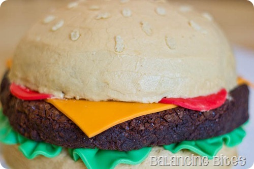 Father's Day Cake Cheeseburger Cake (23 of 23)