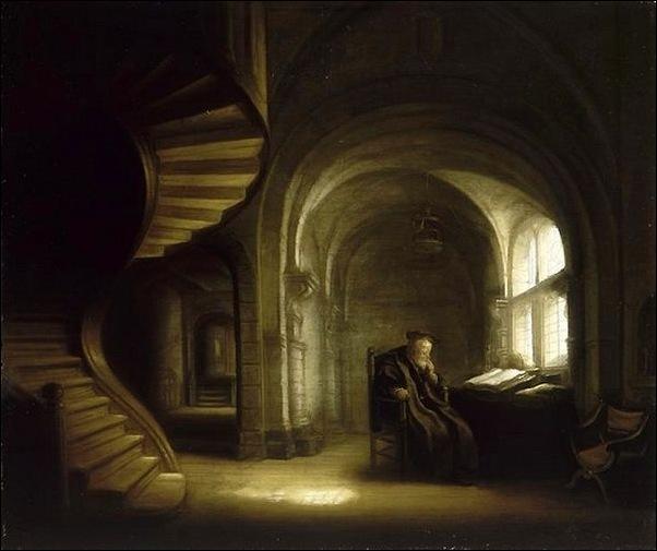 Rembrandt, Le philosophe